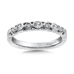 Valina Stackable Wedding Band in 14K White Gold (.24 ct. tw.)