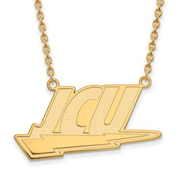 Gold-Plated Sterling Silver John Carroll University NCAA Necklace