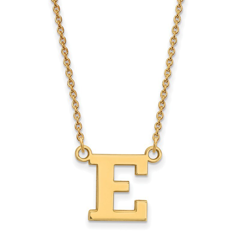 NCAA Gold-Plated Sterling Silver Eastern Michigan University NCAA Necklace