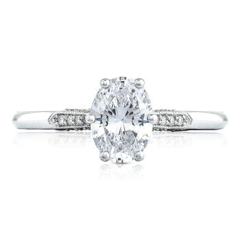 Simply Tacori Oval Engagement Ring