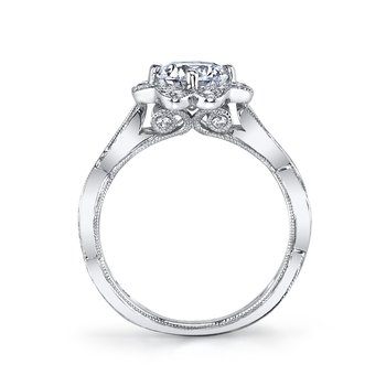 MARS 26020 Diamond Engagement Ring, 0.56 Ctw.