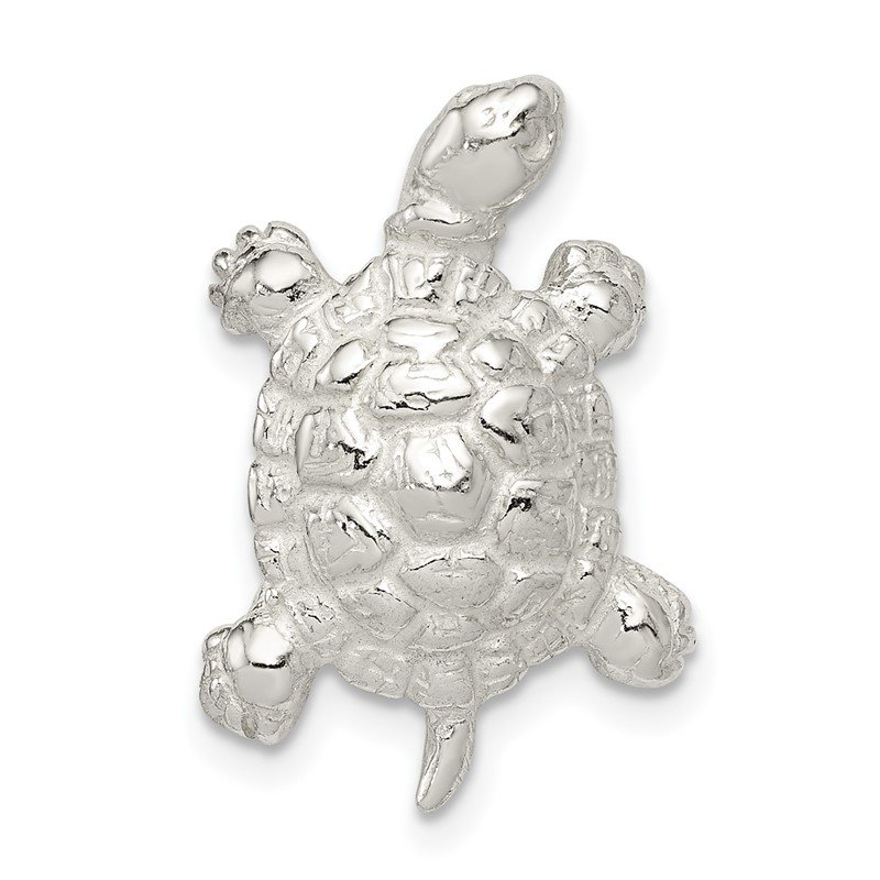 Quality Gold Sterling Silver Turtle Charm