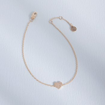 All Heart Gold Bracelet