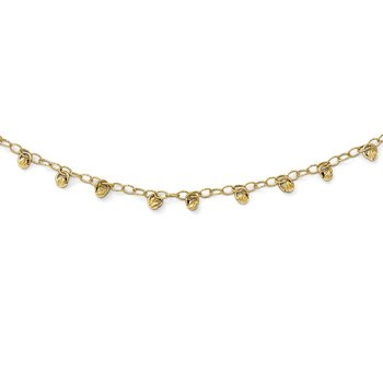 Leslie's 14k Diamond-Cut Necklace