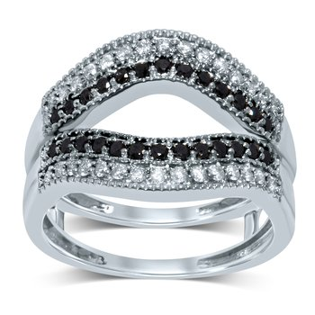 14K 0.56Ct Diamond Ring Guard