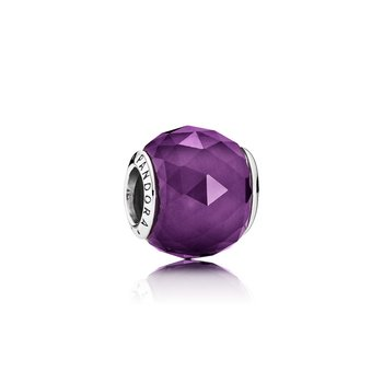 Geometric Facets, Royal-Purple Crystal