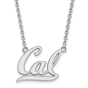 Sterling Silver University of California Berkeley NCAA Necklace