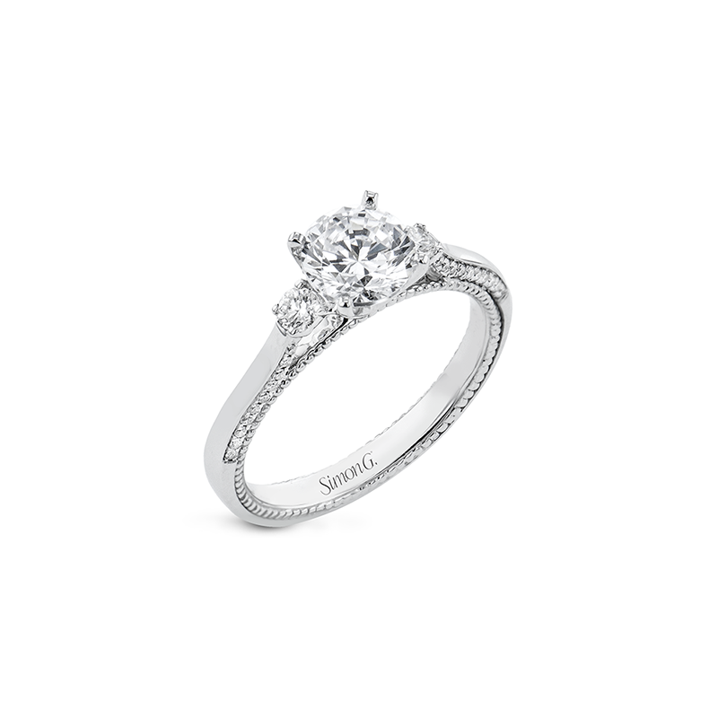 Simon G LR2818 ENGAGEMENT RING