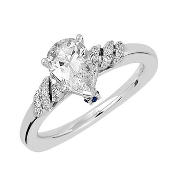 Bridal Ring-RE12691W10PS