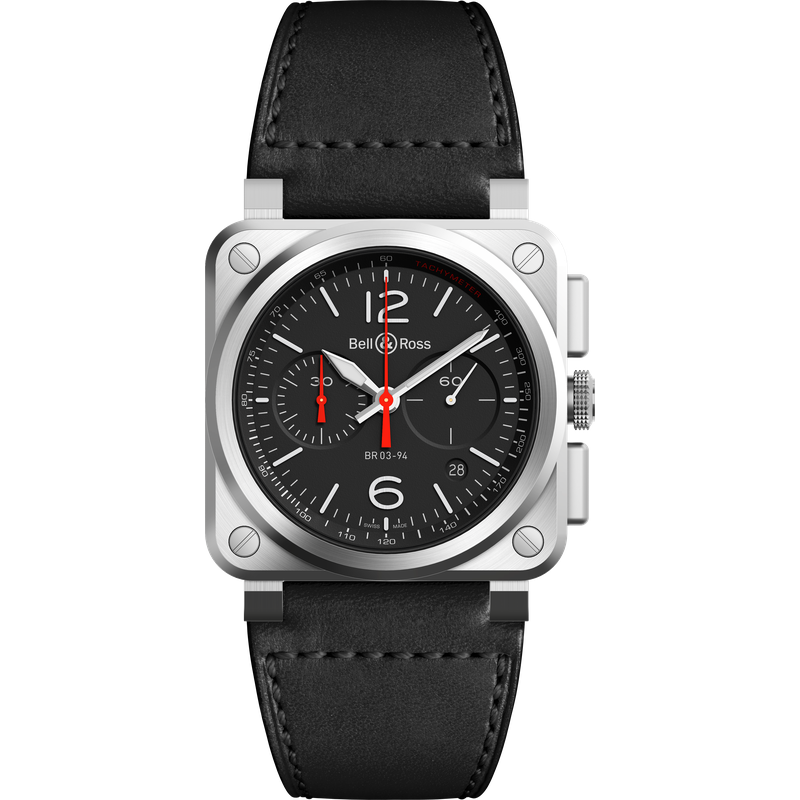 Bell & Ross BR 03-94 Black Steel