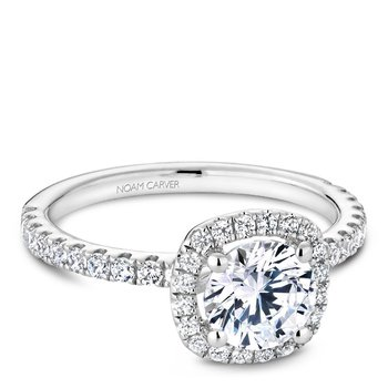 Noam Carver Modern Engagement Ring B223-01A