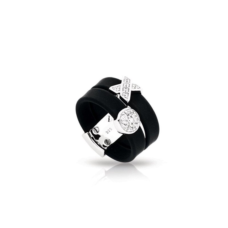 Belle Etoile Hugs and Kisses Ring