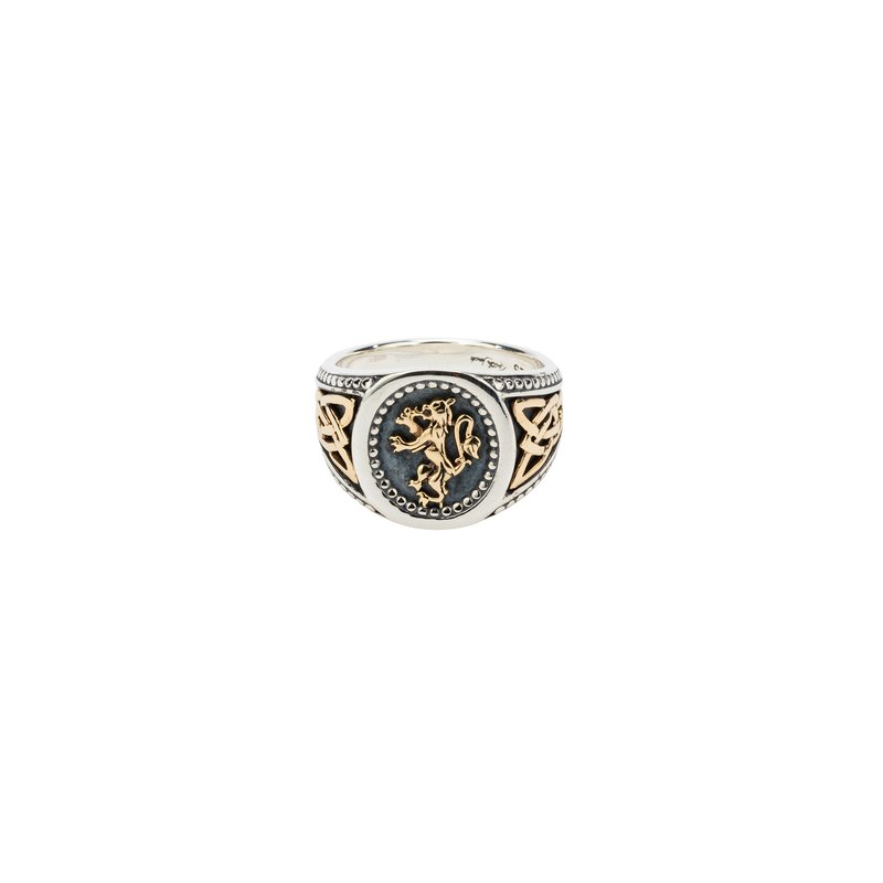 Keith Jack Lion Rampant Ring Large