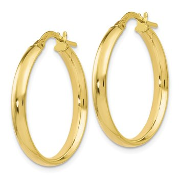 Leslie's 10K Gold Polished Hoop Earrings