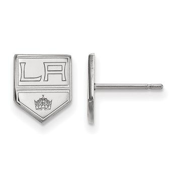 Sterling Silver Los Angeles Kings NHL Earrings