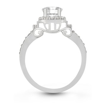 The Meera Carriage Ring