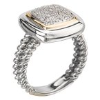 Eleganza Ladies Fashion Diamond Ring