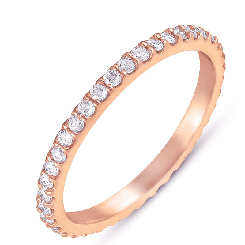 S. Kashi & Sons Bridal Rose Gold Eternity Band
