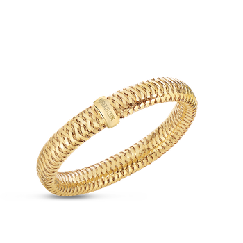 18Kt Gold Flexible Bangle