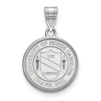 Sterling Silver University of North Carolina NCAA Pendant