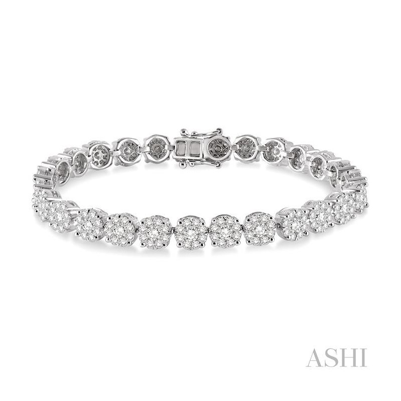 ASHI lovebright essential diamond bracelet