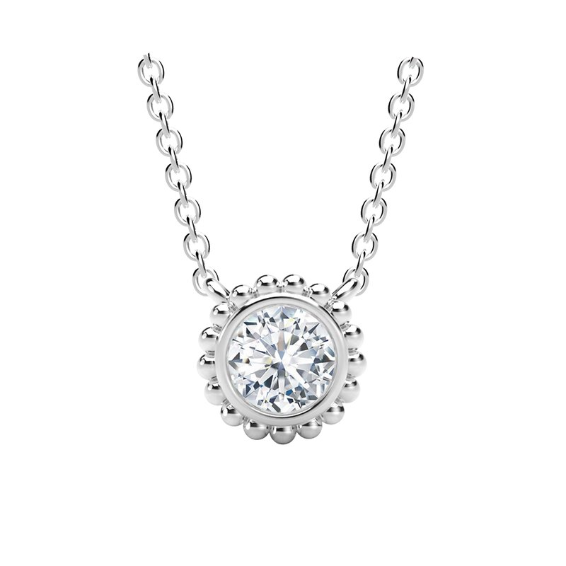 Forevermark Black Label The Forevermark Tribute™ Collection Round Beaded Pendant