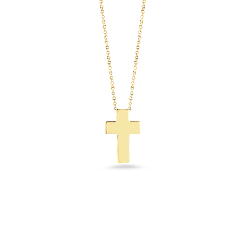 Roberto Coin 18Kt Gold Cross Pendant