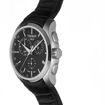 Couturier GMT Men's Black Quartz Trend Watch