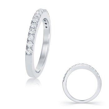 White Gold Matching Wedding Band