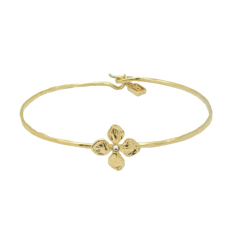 Waxing Poetic Good Verbs Bangle - Blossoming