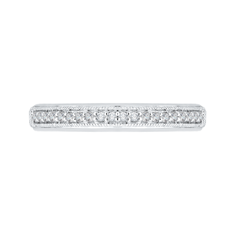 Carizza 18K White Gold Carizza  Wedding Band