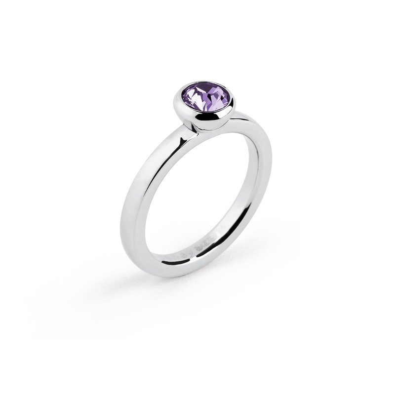 Brosway 316L stainless steel and tanzanite Swarovski® Elements crystal.