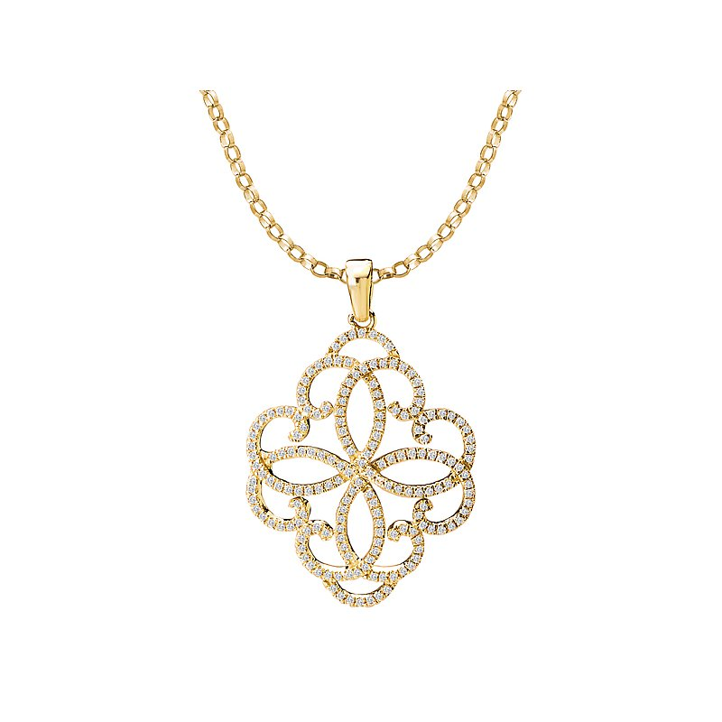 Tesoro Ladies Diamond Pendant