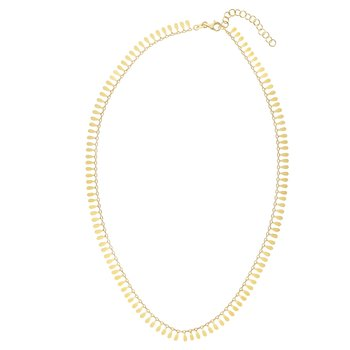 14K Gold Flora Necklace