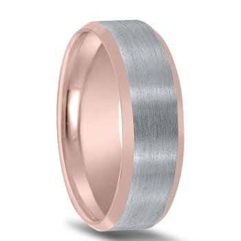 Men's Two-tone Wedding Band - NT16648