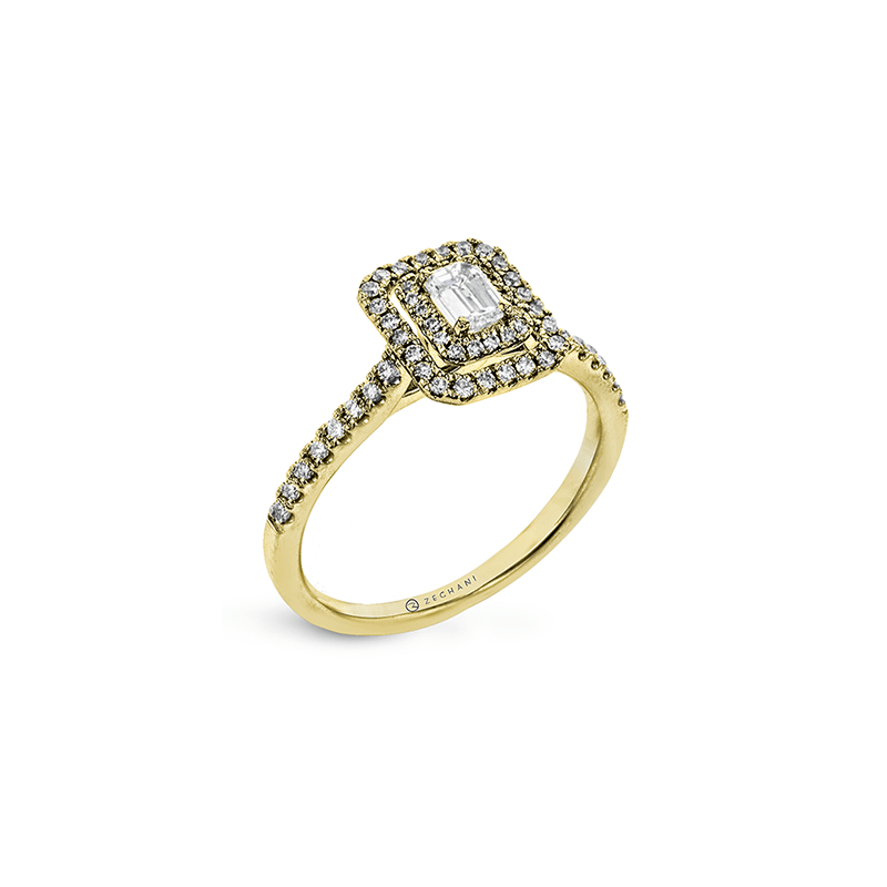 Zeghani ZR1863-Y ENGAGEMENT RING