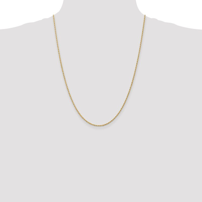 Leslie's Leslie's 14K 1.6mm Solid Regular Rope Chain