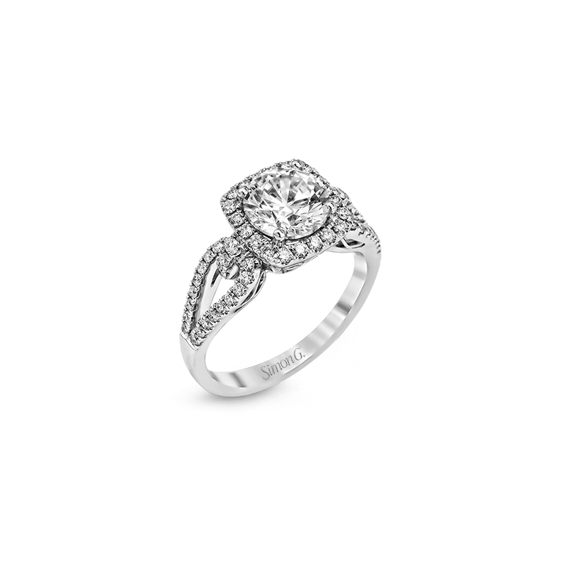Simon G MR1828 ENGAGEMENT RING