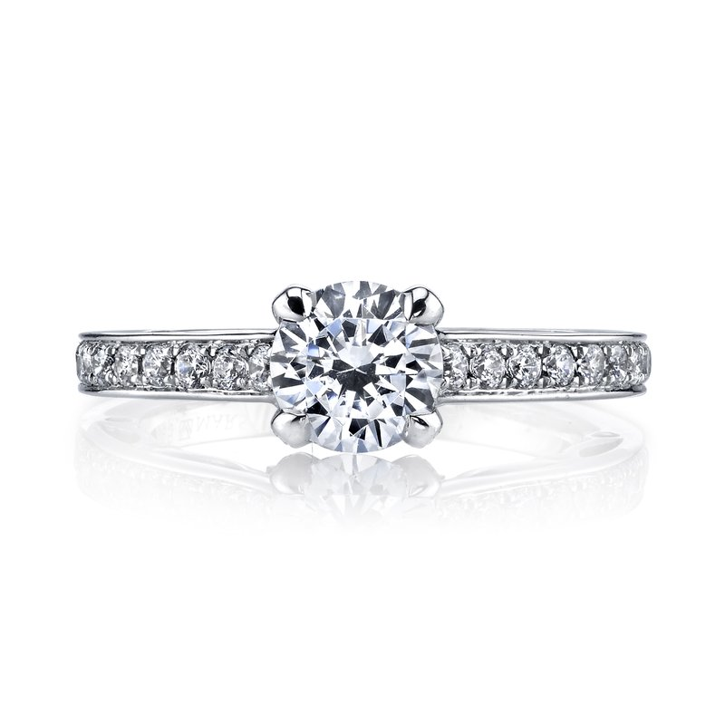 MARS Jewelry MARS 25736 Diamond Engagement Ring 0.45 Ctw.