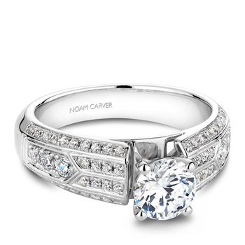 Noam Carver Regal Engagement Ring B049-01A