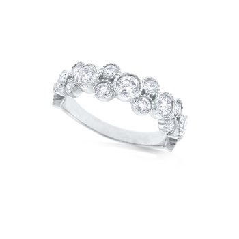 14k Diamond Stack Ring