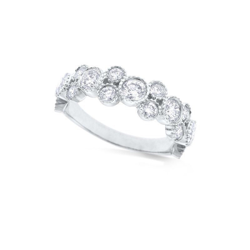 KC Designs 14k Diamond Stack Ring