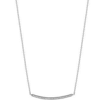 Petite Forever Bar Necklace