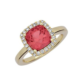 Padparadscha Ring-CR12429YPD