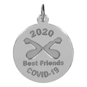 Covid-19 Best Friends Elbow Bump Charm