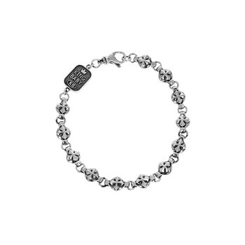 Round Mb Cross Bracelet
