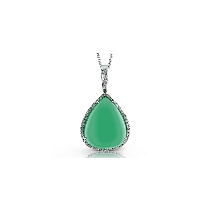 Zeghani ZP495 COLOR PENDANT
