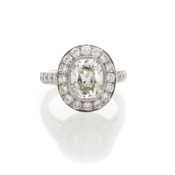 CUSHION CUT DIAMOND 1.91CT