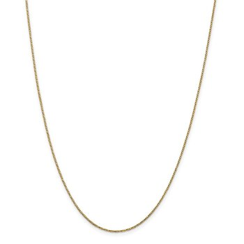 14k .95mm Twisted Box Chain