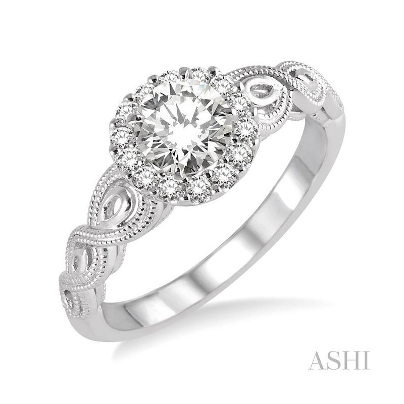 Gemstone Collection diamond engagement ring